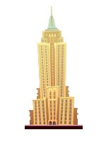 Amanecer en el Empire State Building