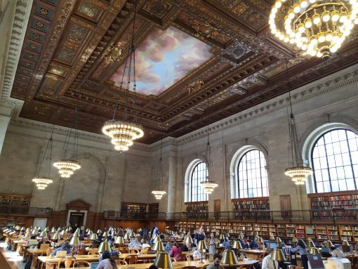 Biblioteca pública de Nueva York - Rose Reading Room
